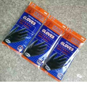 Industrial Rubber Heavy Duty Work Safety Latex Glove pictures & photos