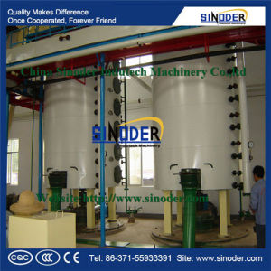 Sunflower Oil Refining Equipment with PLC System for Soybean and Sunflower Oil Refinery Plant pictures & photos