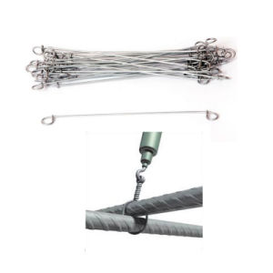 0.8mm to 1.6mm Wire Diameter Double Loop Sack Tie Wire pictures & photos