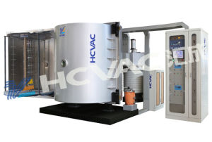 Disposable Plastic Silver Spoon Coating Machine/Vacuum Metallizing Machine for Plastic Spoon Fork Knife pictures & photos