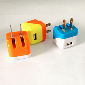 Popular 1000mA Home Charger USB Charger Free Cosotmer Logo Wall Charger for Andriod Phones pictures & photos
