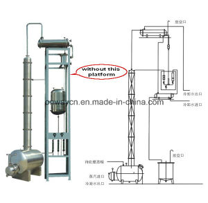 Jh High Efficent Factory Price Energy Saving Alcohol Used Distillation Column pictures & photos