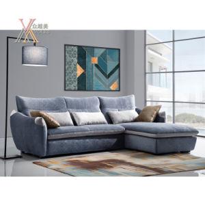 Modern Fabric Sofa Set with Cushion (1611)