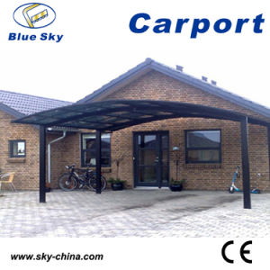 Polycarbonate Aluminum Double Carport for Car Park System (B800) pictures & photos