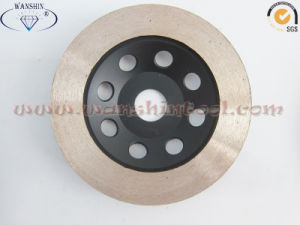 High Quality Diamond Cup Wheel with Continuous Rim pictures & photos