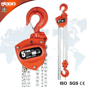 Kixio Building Industrial Manual Chain Block with Overload Clutch (CB05-02) pictures & photos