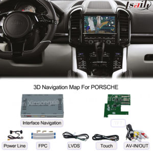 Car Multimedia Navigation Interface Box for Porsche Macan, Touch Navigation, Audio and Video pictures & photos
