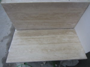 Beige Travertine, Travertine Tiles and Travertine French Pattern pictures & photos