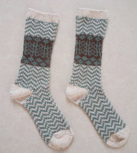 Women Customer Design Knitting Socks pictures & photos