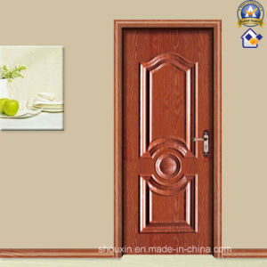 New Red Spell Wood Wholesale Security Door (sx-24-2015c) pictures & photos