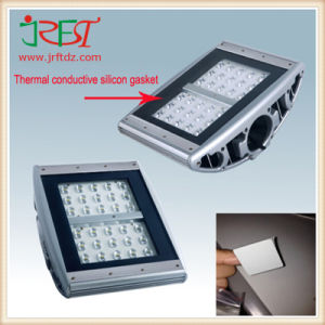 Thermal Conductivity Silicon Gasket Heat-Conducting Soft Silicone Sheet Insulation Material for LED pictures & photos