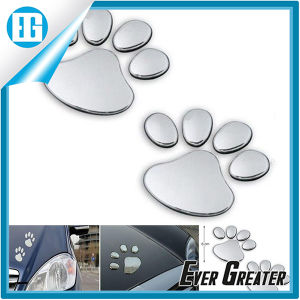 3D Pets Paw Car Sticker Cat Emblem Window Badge pictures & photos