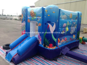 Commercial Cheap Inflatable Undersea Bouncer for Sale pictures & photos