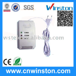 Power Source AC Power Consumption 1.7W Gas Alarm Detector with CE pictures & photos