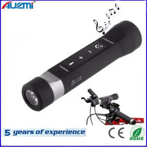 Portable Mult-Function Flashlight Bluetooth Speaker for Outdoor Cycling