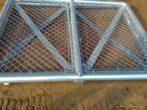 Chain Link Fence Door Anping Factory pictures & photos