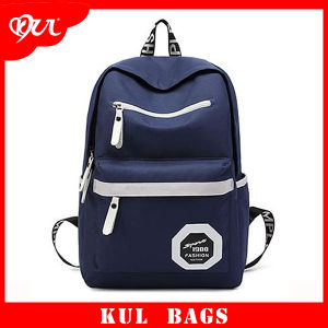 (KL030) Durable Leisure Oxford Laptop Backpack Outdoor Travel Bags School Bags for Students