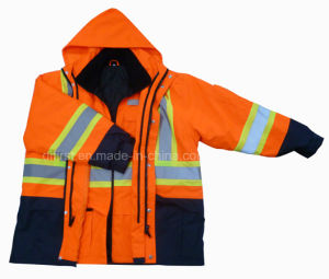 5 in One Parka Reflective Safety Jacket (DPA020) pictures & photos