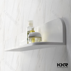Customized Stone Solid Surface Bathroom Wall Shelves pictures & photos
