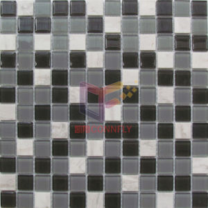 Grey Glass and Stone Mosaic (CS241) pictures & photos