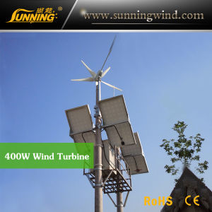 Residential Wind Generator 400W Wind Turbine Home Use pictures & photos