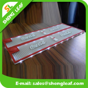 Custom Made Promotion Soft Useful Coffee LED Bar Mat pictures & photos