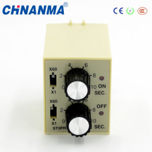 Adjustable 2016 Innovative Product Time Delay Relay St3pr Twin Timer pictures & photos