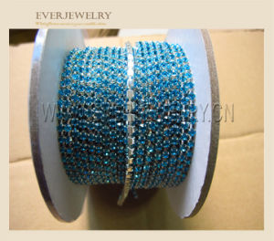 Factory Direct Sale Rhinestone Cup Chain, Sew-on Crystal Rhinestone Chain Trim pictures & photos