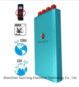 GSM GPS Cell Phone Signal Jammer Mobile Phone GPS Signal Jammer 4 Antenna