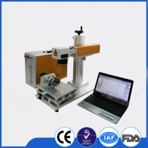 Metal Fiber Laser Marking Machine for Jewelry/Earrings Laser Marking Machine pictures & photos