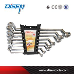 CE DIN 838 Chrome Vanadium Double Ring Offset Spanner pictures & photos