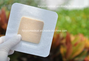 Antibacterial Silver Foam Dressing with CE and FDA pictures & photos