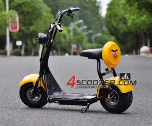 500W Electric Scooter 2 Wheel Electric Scooter Harley Scooter pictures & photos