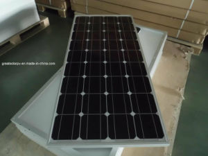 100W Monocrystalline Solar Panel off-Grid Use pictures & photos