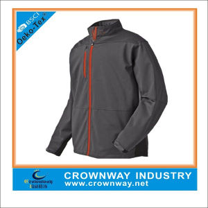 Black Waterproof Windproof Windbreaker Golf Jacket for Men pictures & photos
