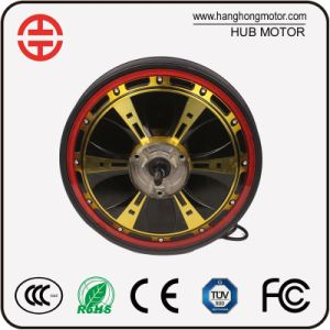 Electric Motorcycle BLDC Hub Wheel Motor pictures & photos