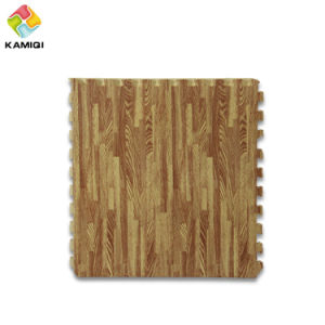Fashion Style Kamiqi EVA Foam Jigsaw Puzzle Floor Mats Wood Grain Mats pictures & photos
