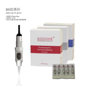 Rl1 Rl3 Rl5 F5 Goochie Safe Disposable Cartridge Permanent Makeup Needles for Eyebrow Tattoo pictures & photos