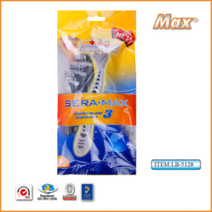 Triple Sweden Stainless Steel Blade Disposable Shaving Razor (LB-5120) pictures & photos