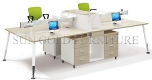 Modern Office Furniture Modular Wooden DELL Workstation (SZ-WS345) pictures & photos