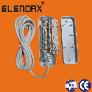 European Power Socket Three Way Socket (E8003ES) pictures & photos