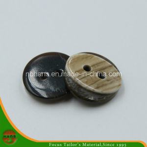 2 Holes New Design Polyester Shirt Button (S-120) pictures & photos