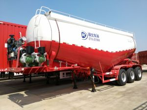 China Manufacturer 40cbm Tanker Semi Trailer by Dongrun Brand