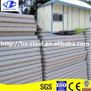 Structure Steel Polystyrene Sandwich Exterior Panel pictures & photos