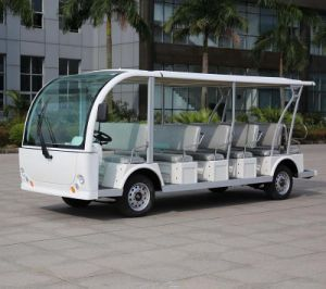 CE Approved Marshell Brand 23 Seat Electric Car for Park (DN-23) pictures & photos