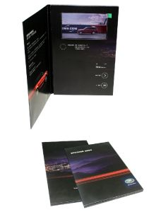 5.0-Inch Rechargeable Magnet Switch Video Greeting Brochure Promotion Card (VC-050) pictures & photos
