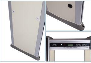 18 Zones Door Frame Walk Through Metal Detector Gate pictures & photos