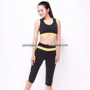 Fashion Quickly Dry Comfortable Fitness Vest Running Shorts Gym Suit pictures & photos