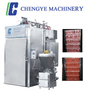 Sausage Smokehouse/ Smoke Oven 1500kg with CE Certification 10kw pictures & photos