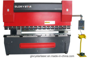 CNC Hydraulic Bending Machine Working on Metal Sheets for Metalcraft pictures & photos